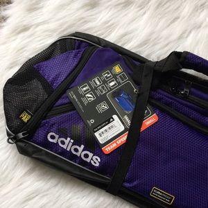70f1ebb70b adidas Bags - Adidas Team Speed Duffel Bag Small Purple Soccer